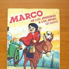 Coleccionismo Álbum: MARCO - DE LOS APENINOS A LOS ANDES, 2ª PARTE - DANONE 1976 - COMPLETO. Lote 58559915