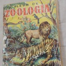 Coleccionismo Álbum: ALBUM ZOOLOGIA. Lote 58000640