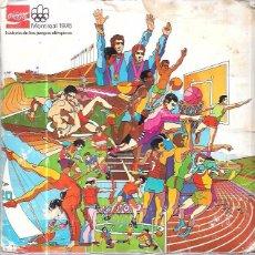 Coleccionismo Álbum: ÁLBUM COCA COLA,MONTREAL 1976,ORIGINAL Y COMPLETO,,VER LAS FOTOS. Lote 58169209