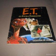 Coleccionismo Álbum: ALBUM INCOMPLETO - ET / EL EXTRA-TERRESTRE ED. ESTE - VER FOTO - AÑO 1982 COMPLETO. Lote 58178257