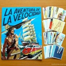 Coleccionismo Álbum: LA AVENTURA DE LA VELOCIDAD - DIFUSORA DE CULTURA, DIDEC 1976 - COMPLETO - VER FOTOS INTERIORES. Lote 58201517