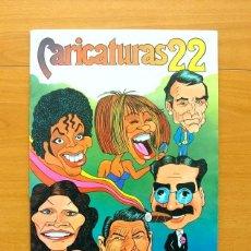 Coleccionismo Álbum: CARICATURAS 22 - CROMOS ROS 1987 - COMPLETO - VER FOTOS INTERIORES. Lote 58202012