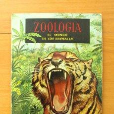 Coleccionismo Álbum: ZOOLOGIA - EL MUNDO DE LOS ANIMALES - COMPLETO - EDITORIAL FERCA 1961 - VER FOTOS INTERIORES. Lote 58202897