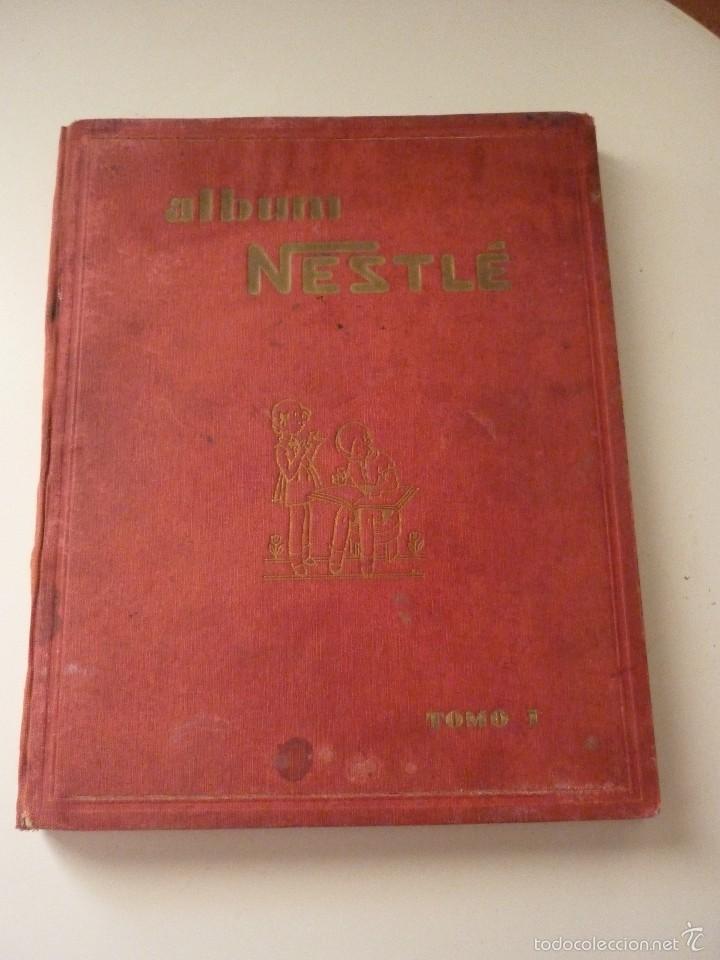 NESTLE TOMO I. COMPLETO (Coleccionismo - Cromos y Álbumes - Álbumes Completos)