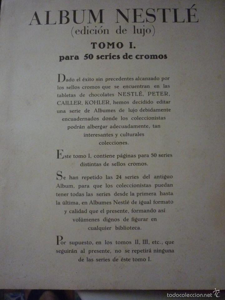 Coleccionismo Álbum: NESTLE TOMO I. COMPLETO - Foto 3 - 58224346