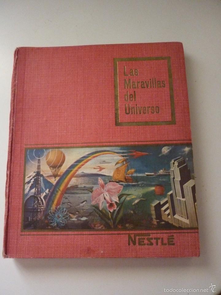 NESTLE LAS MARAVILLAS DEL UNIVERSO. COMPLETO (Coleccionismo - Cromos y Álbumes - Álbumes Completos)
