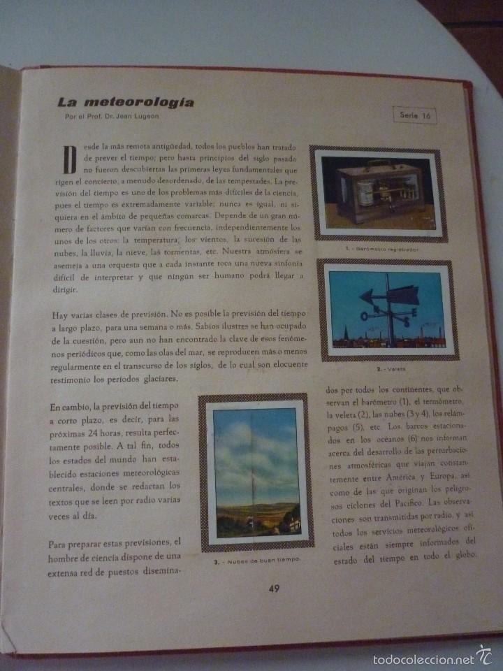 Coleccionismo Álbum: NESTLE LAS MARAVILLAS DEL UNIVERSO. COMPLETO - Foto 9 - 58224385