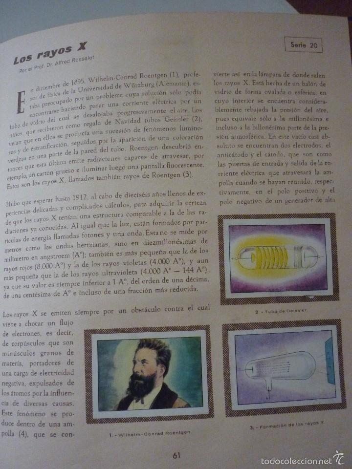 Coleccionismo Álbum: NESTLE LAS MARAVILLAS DEL UNIVERSO. COMPLETO - Foto 11 - 58224385