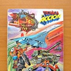 Coleccionismo Álbum: TÉCNICA Y ACCIÓN - EDICIONES ESTE 1980 - COMPLETO - VER FOTOS INTERIORES. Lote 58234091