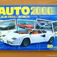 Coleccionismo Álbum: AUTO 2000 - COMIC ROMO 1988 - COMPLETO - VER FOTOS INTERIORES. Lote 58234141