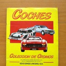 Coleccionismo Álbum: COCHES - MOTOR 16 - EDICIONES UNIDAS 1986 - COMPLETO. Lote 58236013