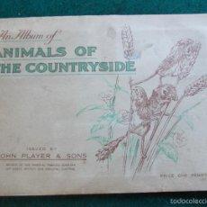 Coleccionismo Álbum: ALBUM COMPLETO EN INGLES ANIMALS OF THE COUNTRYSIDE. Lote 58257888
