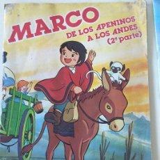 Coleccionismo Álbum: MARCO 2ª PARTE DANONE COMPLETO. Lote 58264867