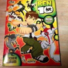 Coleccionismo Álbum: BEN 10 NEW ADVENTURES. Lote 121455282