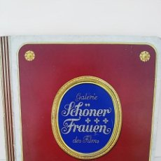 Coleccionismo Álbum: ÁLBUM DE CROMOS. LAS BELLAS MUJERES DE LAS PELÍCULAS. ALEMANIA, 1936. COMPLETO.. Lote 58290626