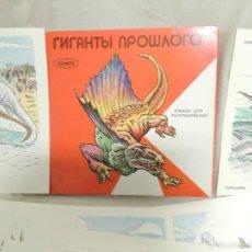 Coleccionismo Álbum: CUADERNO DE LAMINAS PARA COLOREAR DINOSAURIOS (20 LAMINAS). Lote 58373378