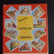 Coleccionismo Álbum: ALBUM DE CROMOS HISTORIA DE LOS CASTILLOS DE ESPAÑA EDICIONES COSTA COMPLETO. Lote 58411287