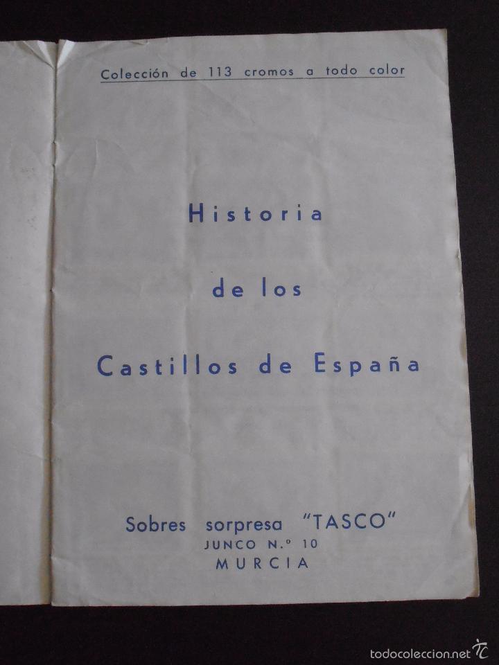 Coleccionismo Álbum: ALBUM DE CROMOS HISTORIA DE LOS CASTILLOS DE ESPAÑA EDICIONES COSTA COMPLETO - Foto 2 - 58411287