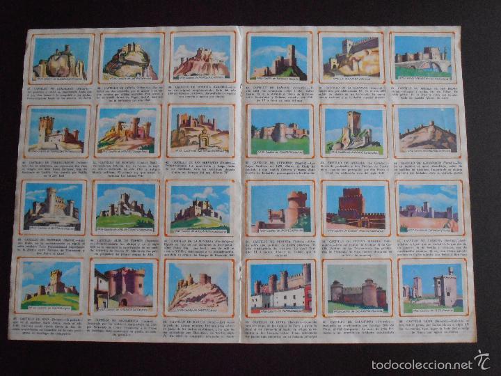 Coleccionismo Álbum: ALBUM DE CROMOS HISTORIA DE LOS CASTILLOS DE ESPAÑA EDICIONES COSTA COMPLETO - Foto 5 - 58411287
