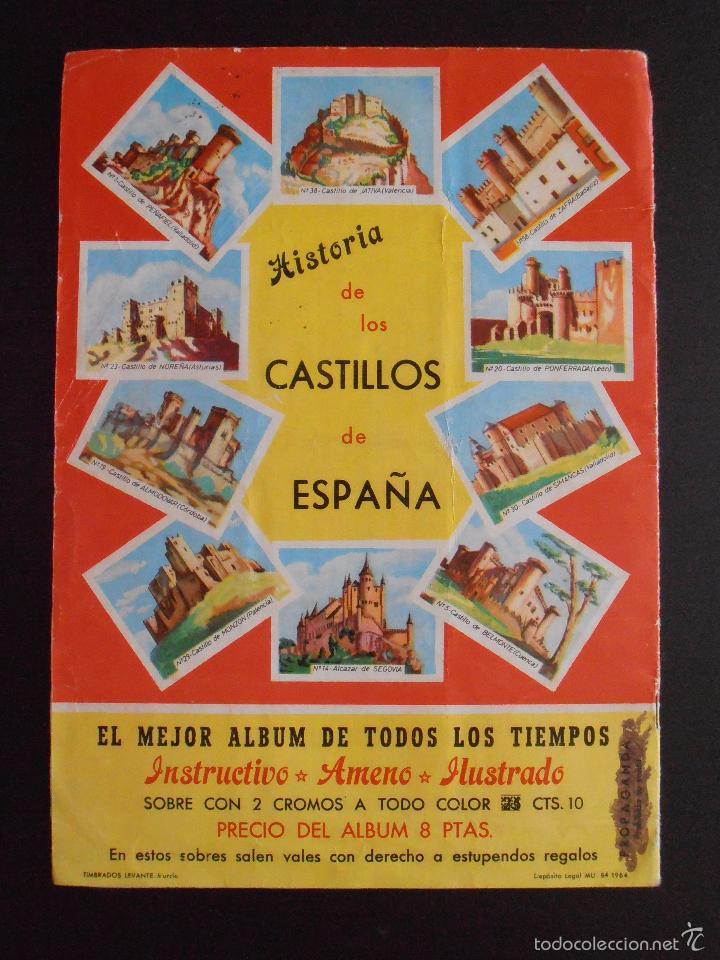 Coleccionismo Álbum: ALBUM DE CROMOS HISTORIA DE LOS CASTILLOS DE ESPAÑA EDICIONES COSTA COMPLETO - Foto 9 - 58411287