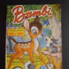 Coleccionismo Álbum: ALBUM DE CROMOS BAMBI 5 PTAS FHER COMPLETO. Lote 58411540