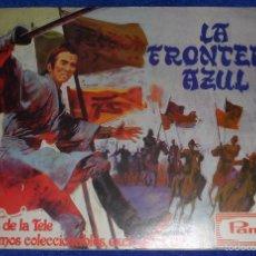 Coleccionismo Álbum: LA FRONTERA AZUL - PANRICO ¡COMPLETO!. Lote 58538893