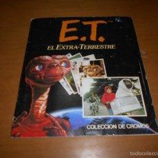 Coleccionismo Álbum: ALBUM CROMOS - ET EL EXTRATERRESTRE - ALBUM ESTE - 1982 COMPLETO. Lote 85945658