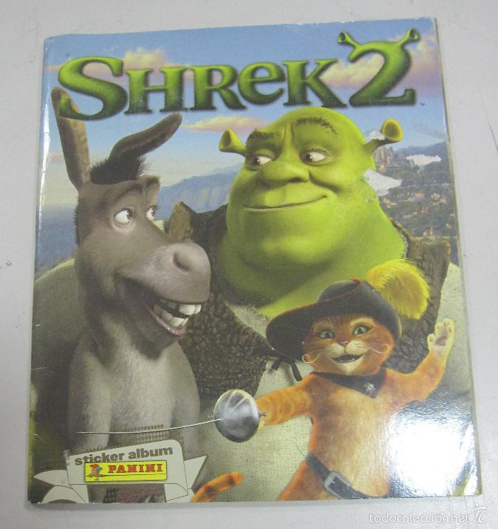 Album Shrek 2 Completo Panini Buy Old Complete Sticker Albums At Todocoleccion 58578372
