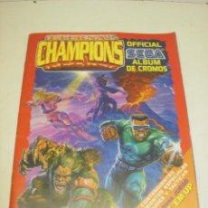Coleccionismo Álbum: ALBUM CROMOS SEGA ETERNAL CHAMPIONS,BEAT'EM UP, PANINI 1993, COMPLETO. Lote 58634030