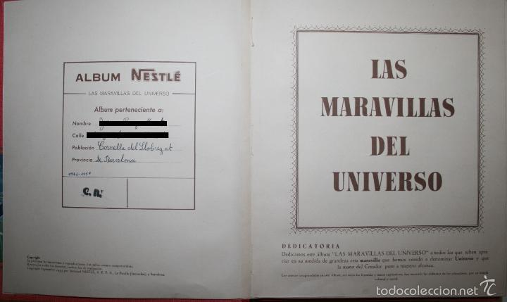 Coleccionismo Álbum: LAS MARAVILLAS DEL UNIVERSO - NESTLÉ - COMPLETO - Foto 13 - 50693535