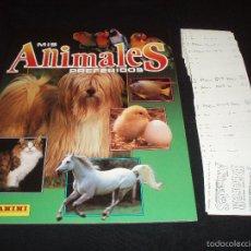 Coleccionismo Álbum: 'MIS ANIMALES PREFERIDOS' (COLECCIÓN COMPLETA SIN PEGAR). Lote 58845141