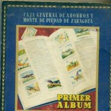 Coleccionismo Álbum: ZARAGOZA. CAJA GENERAL DE AHORROS. ALBUM COMPLETO 500 CROMOS AHORRO INFANTIL. 1947.. Lote 58872201