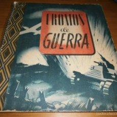 Coleccionismo Álbum: CROMOS DE GUERRA -ÁLBUM COMPLETO - SERIE A 228 CROMOS- EDICIONES VICTOR, 1945.. Lote 58938130