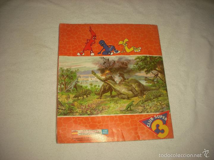 Coleccionismo Álbum: DINOSAURS . PANINI . CLUB SUPER 3 . COMPLETO - Foto 7 - 59611843
