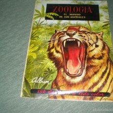 Coleccionismo Álbum: ZOOLOGIA EL MUNDO DE LOS ANIMALES. Lote 59777904