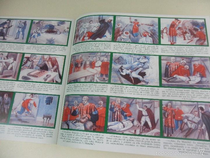 Coleccionismo Álbum: LOS TAMBORES DE FU MANCHU. ALBUM DE CROMOS IMPRESOS. - Foto 2 - 59981435