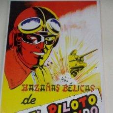 Coleccionismo Álbum: HAZAÑAS BELICAS DE EL PILOTO DESCONOCIDO. ALBUM DE CROMOS IMPRESOS.. Lote 59982459