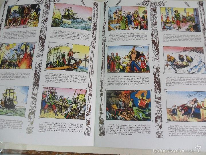 Coleccionismo Álbum: LA PIRATERIA A TRAVES DE LOS SIGLOS. ALBUM DE CROMOS IMPRESOS. 170 GRAMOS. - Foto 2 - 59982915