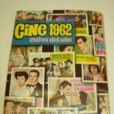 Coleccionismo Álbum: ALBUM CROMOS CINE 1962 ÉXITOS DEL AÑO - COMPLETO - EDITORIAL BRUGUERA 1963. Lote 59989135