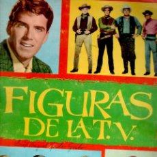 Coleccionismo Álbum: ALBUM COMPLETO FIGURAS DE LA T.V. TV . Lote 60036983