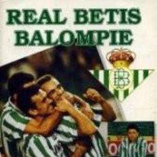 Coleccionismo Álbum: ALBUM DE CROMOS REAL BETIS BALOMPIE,TEMPORADA 94-95. Lote 60053187