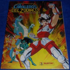 Coleccionismo Álbum: CABALLEROS DEL ZODIACO - PANINI ¡COMPLETO!. Lote 60061159