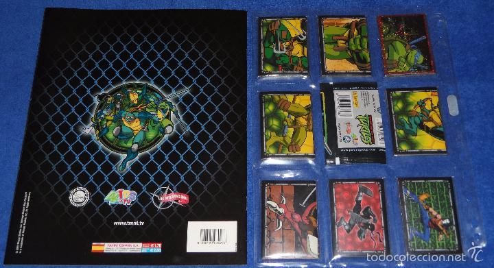 Coleccionismo Álbum: Teenage Mutant Ninja Turtles - PANINI ¡Completa e impecable! - Foto 2 - 270646258
