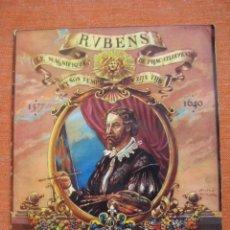 Coleccionismo Álbum: ÁLBUM RUBENS LE MAGNIFIQUE ET SON TEMPS.CHOCOLATE AIGLON.COMPLETO 60 CROMOS. Lote 60130875