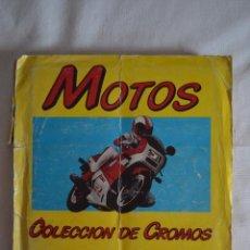 Coleccionismo Álbum: ÁLBUM DE CROMOS MOTOS. EDICIONES UNIDAS. MOTOR 16.1987. ROMANJUGUETESYMAS.. Lote 60134827