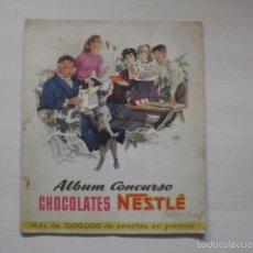 Coleccionismo Álbum: ALBUM CONCURSO DE CHOCOLATES NESTLE. Lote 60178831