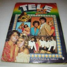 Coleccionismo Álbum: ÁLBUM TELE POP . Lote 60201023