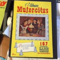 Coleccionismo Álbum: MUJERCITAS ALBUM COMPLETO BUEN ESTADO. Lote 60524519