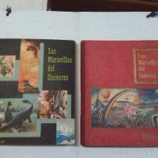 Coleccionismo Álbum: MARAVILLAS DEL MUNDO NESTLE, 2 ÁLBUMES COMPLETOS (AÑOS 1956 Y 1957). Lote 60649419