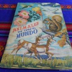 Coleccionismo Álbum: ANIMALES DE TODO EL MUNDO COMPLETO 300 CROMOS. FHER AÑOS 50.. Lote 60828743